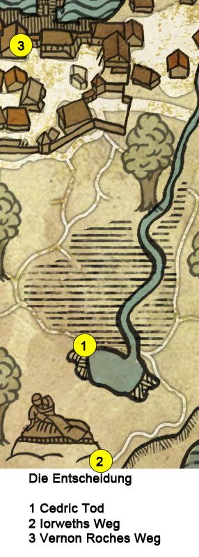 witcher 2 finde cedric